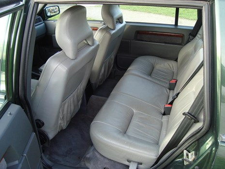 Volvo 940 limited interieur linksachter