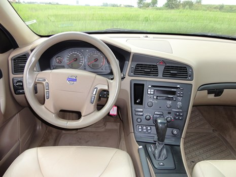 V70 2.5t automaat AWD dashboard