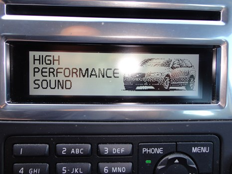 Volvo V70 D3 high performance sound