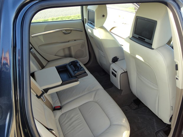 Volvo V70 2010 video entertainmant systeem